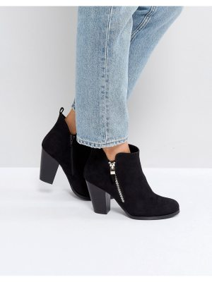 Call it Spring Call It Spring Kokes Black Heeled Ankle Boots