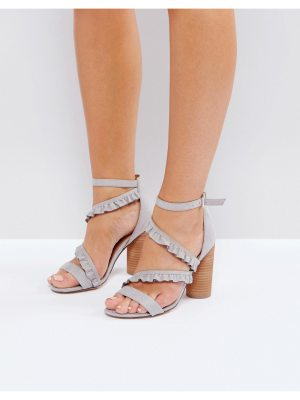 Call it Spring Call It Spring Quarata Ruffle Heeled Sandals