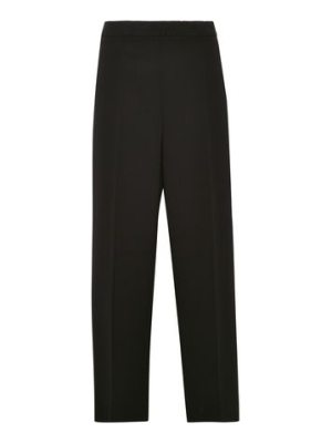 Calvin Klein Collection cropped crepe straight
