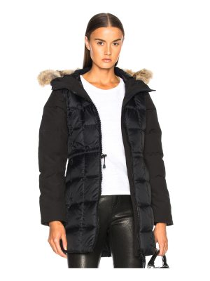 Canada Goose Beechwood Parka With Coyote Fur