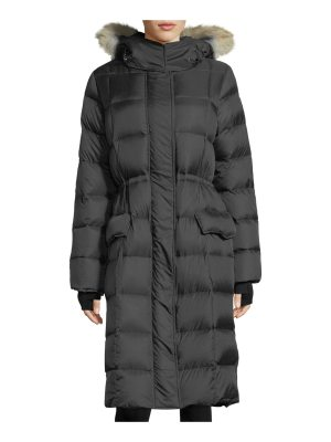 Canada Goose Lunenberg Hooded Parka Jacket with Fur Trim