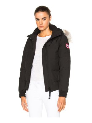 Canada Goose Savonna Bomber With Coyote Fur