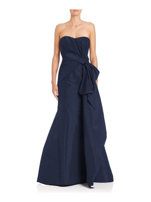 Carolina Herrera silk sweetheart gown