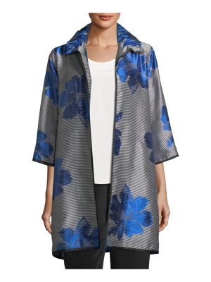 Caroline Rose Floral Pop Topper Jacket