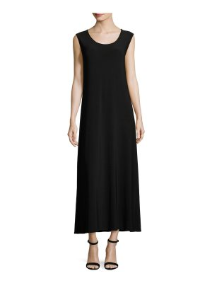 Caroline Rose Sleeveless Knit Long Dress