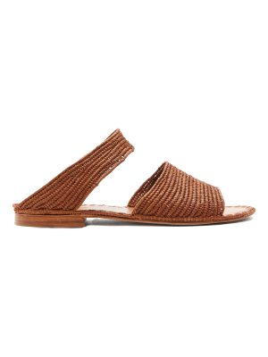 CARRIE FORBES Ahmed raffia sandals
