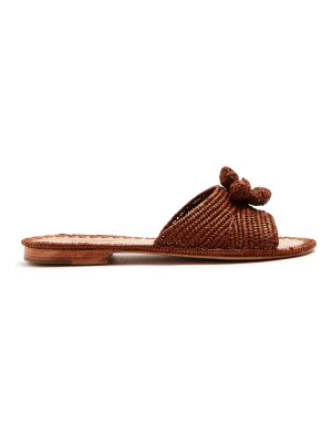 CARRIE FORBES Salma raffia slides