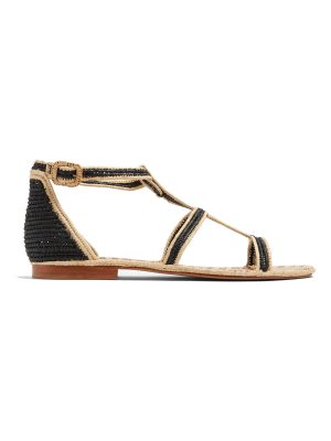 CARRIE FORBES Tama raffia sandals