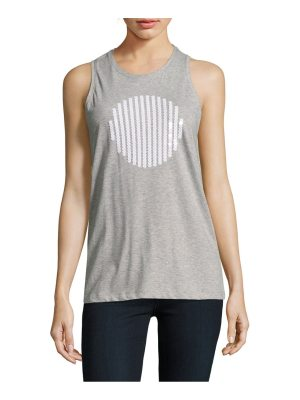 Carven Solid Cotton Tank Top