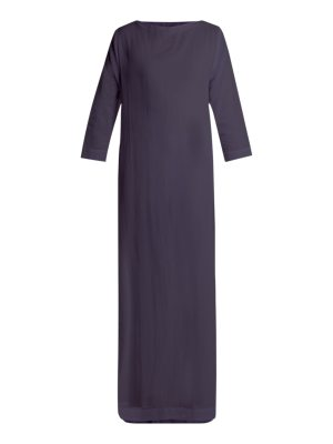 CASA NATA Boatline Cotton Gauze Dress