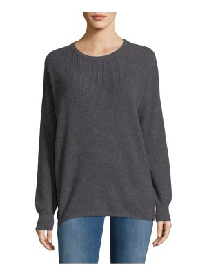 Cashmere Saks Fifth Avenue Cashmere Pullover With Zippers