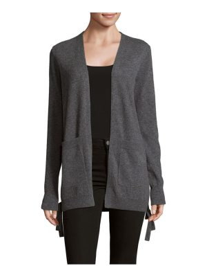 Cashmere Saks Fifth Avenue Side Tide Cashmere Cardigan