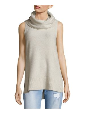 Cashmere Saks Fifth Avenue Sleeveless Cashmere Tunic