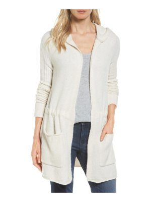 Caslon caslon hooded cardigan