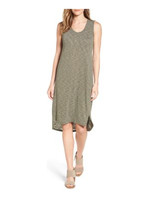 Caslon caslon shirttail hem tank dress
