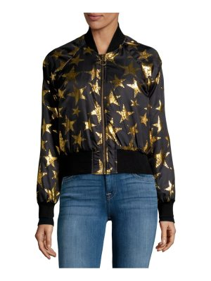 C&C California Star Print Bomber Jacket