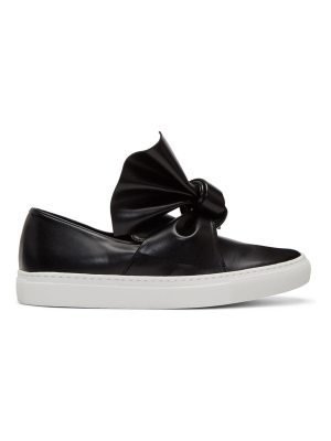 CÉDRIC CHARLIER Bow Slip-On Sneakers