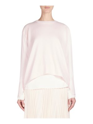 Cedric Charlier long sleeve knit sweater