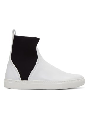 CÉDRIC CHARLIER Pull-On High-Top Sneakers