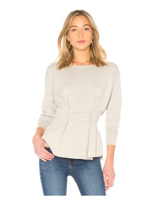 Central Park West Redwoods Corset Sweater
