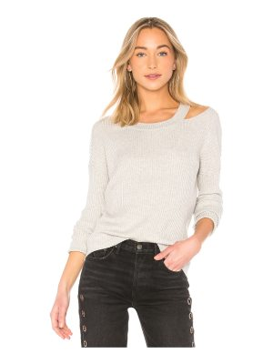 Central Park West Zion Ribbed Sweater