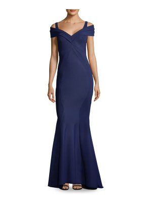 Chiara Boni La Petite Robe cold-shoulder mermaid gown