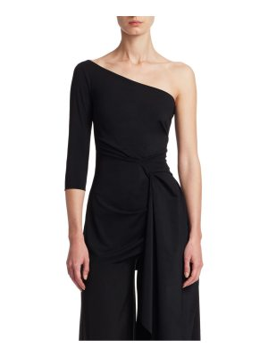 Chiara Boni La Petite Robe ruffled one-shoulder top