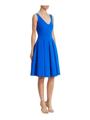 Chiara Boni La Petite Robe v-neck pleated cocktail dress