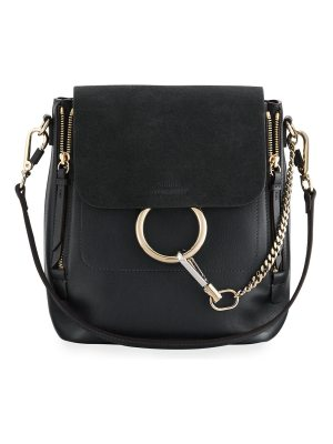Chloe Faye Small Leather/Suede Backpack