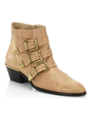 Chloe susanna leather booties