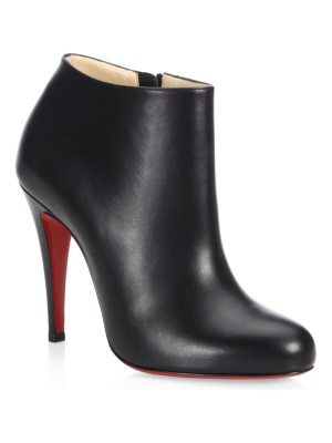 Christian Louboutin belle 100 leather ankle boots