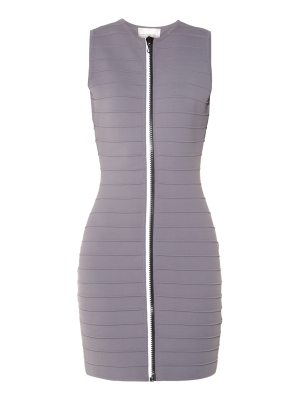 Christopher Kane Zip Through Bandage Mini Dress