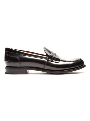 CHURCH'S Pembrey leather penny loafers