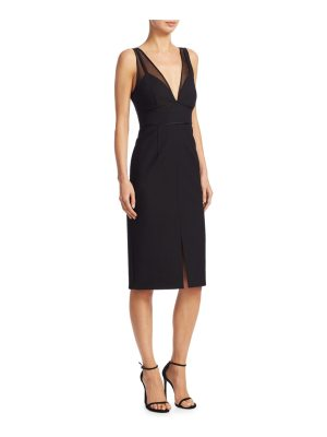 Cinq a Sept lida mesh midi dress