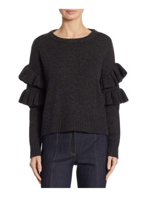 Cinq a Sept mona ruffle sleeve sweater