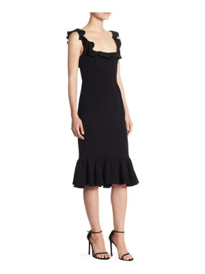 Cinq a Sept opalina midi dress