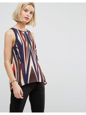Clover Canyon Dynamic Sunset Drapey Top