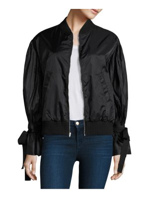 Clu bomber pleated jacket