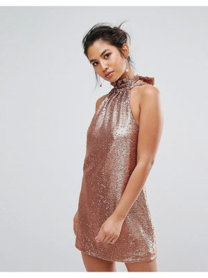 C/Meo Collective sequin mini dress