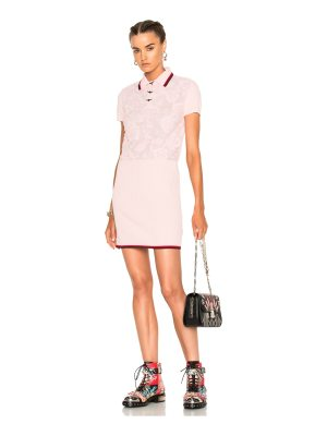 COACH 1941 Rose Lace Polo Sweater Dress