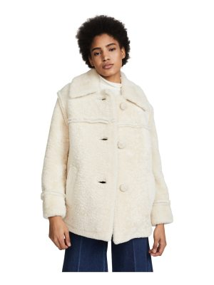 COACH 1941 shearling coat