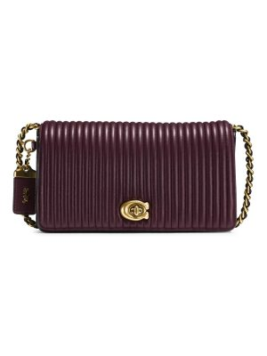 COACH 1941 quilted dinky leather crossbody bag