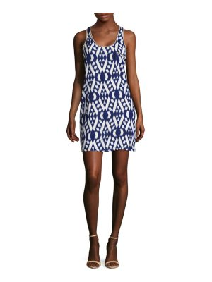 Collective Concepts Printed Mini Dress
