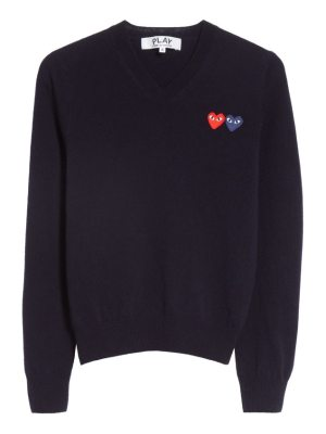 Comme Des Garcons PLAY wool sweater