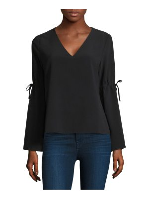 Cooper & Ella ingrid bell-sleeve top