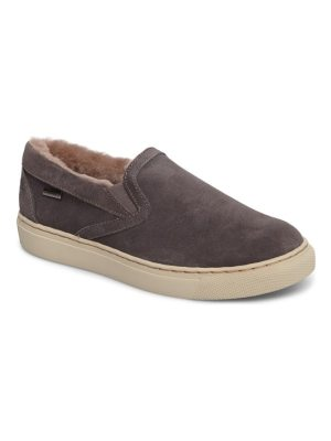 COUGAR fawn waterproof genuine shearling slip-on
