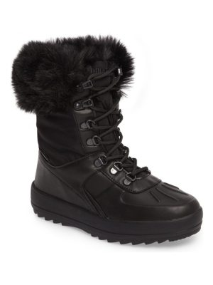 COUGAR viper waterproof snow boot with faux fur trim
