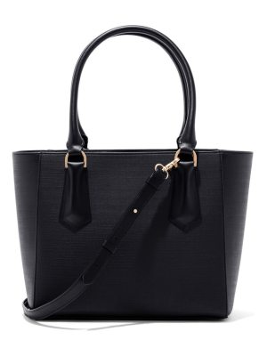 DAGNE DOVER signature midi coated canvas tote