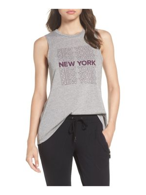 David Lerner new york high/low muscle tank