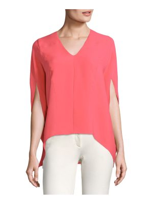 Derek Lam V-Neck Silk Top